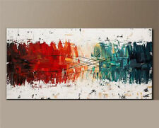 """24x48"""" Modern Abstract Art Hand-painted Oil Painting on canvas,NO Frame"""