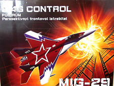 MIG 29 Jet RTF Ready To Fly Starter RC Radio Control Plane New UK push prop