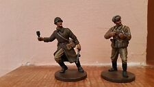 2 Oryon WWII Russian Infantry Soldiers, Die-cast Metal,1:35 Scale-Mint Condition