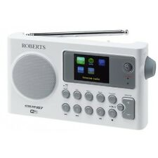 New Roberts Stream 107 DAB DAB+ FM RDS WiFi Internet Preset Portable Radio