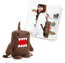 Fashion DOMO KUN figure plush soft cartoon mignon sac à dos école sac épaule mo