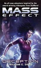 Mass Effect - Deception by William C. Dietz (2012, Paperback)