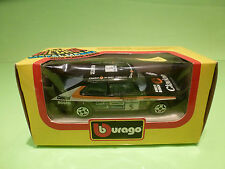 BBURAGO 4101 SAAB 900 TURBO - RALLY CLARION No 5 BLACK 1:43 - NEAR MINT IN BOX