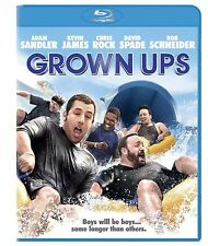 GROWN UPS NEW BLU RAY DISC MOVIE FILM COMEDY ADAM SANDLER KEVIN JAMES CHRIS ROCK