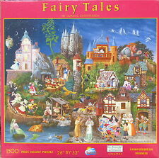 SunsOut FAIRY TALES 1500 pc Jigsaw Puzzle James C Christensen