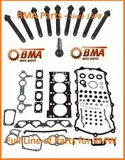 BMW E30 E36 318i 318iC 318is M42 Head Gasket Set w/head bolts - OEM Reinz