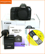 Canon EOS 5D MK II Digital SLR Camera Body,Battery,Charger Free UK Postage