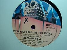 """Stephanie Mills """"Never Knew Love Like This Before"""" Great Oz 7"""""""