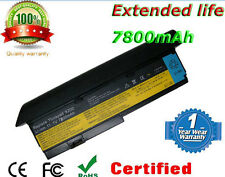 9 Cell Battery for Lenovo ThinkPad X200 X201 FRU 42T4536 42T4538 42T4542 43R9257