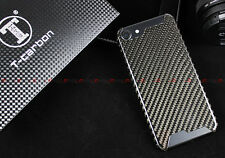 100% REAL CARBON FIBER GLOSSY LUXURY CASE W/ GIFT BOX FOR APPLE IPHONE 7 4.7''