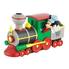 DISNEY Holiday Village Collection - DEPT 56 - MICKEY'S HOLIDAY TRAIN ENGINE