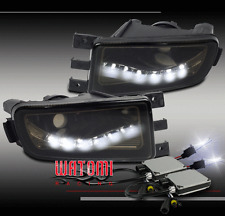 98-05 LEXUS GS300 GS400 GS430 BUMPER DRIVING LED FOG LIGHTS SMOKE W/10K HID KIT