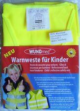 Wundmed Kinder Warnweste - gelb - Größe XS - mehr Sicherheit im Straßenverkehr