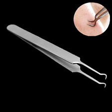Bend Curved Point Tips Blackhead Acne Clips Pimple Comedone Remover Cleaner
