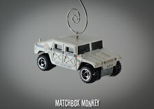 Police DEA Humvee Hummer Custom Christmas Ornament 1/64 Drug Enforcement Unit