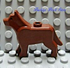NEW Lego Minifig REDDISH BROWN DOG/ WOLF The Grim 7637 10197 7744 7237 10176