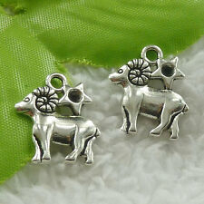 20x18mm Free Ship 220pcs tibet silver sheep charms B4874