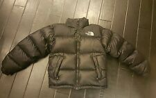 NEW The North Face MEN Black Goose Down Insulated Winter Jacket - S