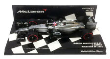 Minichamps McLaren MP4-29 Malaysian GP 2014 - Jenson Button 1/43 Scale