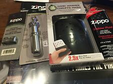 Zippo PACKAGE BLACK Refillable Hand Warmer/Fuel Canister/Burner/ 4 ounce fuel