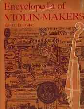 Encyclopedia of violin-makers 2-Volume Set 1968 HC BOOK