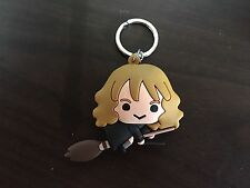 Harry Potter 3D Figural Keychain : Hermione W/ Broom