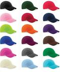 Boys Girls Childs Childrens Kids Low Profile Cotton Baseball Cap Hat
