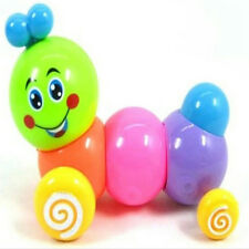 Colorful Wind-up Caterpillar Toys Developmental Educational Toy Baby Kids Gift