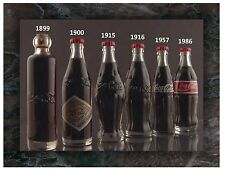 Flexible Fridge Magnet Photo Of   History Of Coca Cola