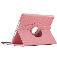Shockproof Soft Rubber Stand Cradle Case Cover Wallet For iPad Air 2 Pink