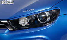 RDX Scheinwerferblenden VW Scirocco 3 Typ 13  Böser Blick ABS Blenden Spoiler
