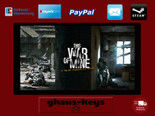 This War of Mine Steam Key Pc Game Code Download Neu Blitzversand
