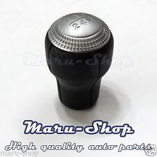 Black Leather 5-Speed MT Gear Shift Knob Lever for 02~11 Hyundai Getz/Click