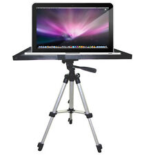 """Laptop Notebook Projector Tray Mount Holder for 1/4"""" 3/8"""" Screw Tripod Stand New"""
