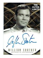 Rare The Outer Limits Premier Edition William Shatner Autograph Card A4
