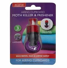 Acana Airing Laundry Cupboard Moth Killer & Freshener with Lavender Fragrance