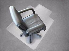 PVC Home Office Chair Floor Mat Studded Back with Lip for Standard Pile Carpet