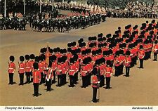 B97078 trooping the colour military london    uk