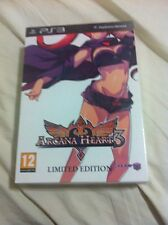 Arcana Hearts 3 Limited Edition New Sealed For Playstation 3