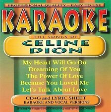 Karaoke: Songs By Celine Dion 2002