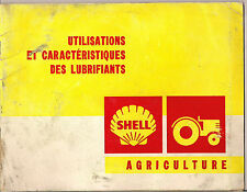 SHELL AGRICULTURE HUILE/ESSENCE/DIESEL/HYDRAULIQUE