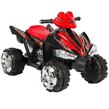 Kids Ride On ATV Quad 4 Wheeler 12V Battery Power Electric Toy Lights Music Car