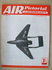 AIR PICTORIAL MAGAZINE FEBRUARY 1953 DE HAVILLAND D.H.110 SUPERSONIC FIGHTER