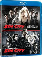 SIN CITY + SIN CITY: A DAME TO KILL FOR  *BLU-RAY*