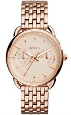 Fossil Watch * ES3713 Tailor Rose Gold Stainless Steel Women COD PayPal