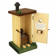 Outside Wooden Outhouse German Incense Burner Smoker Made In Germany