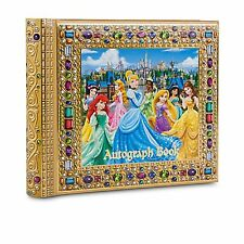 New Disney World Disneyland Princesses Deluxe Autograph Book and Photo Album NIP