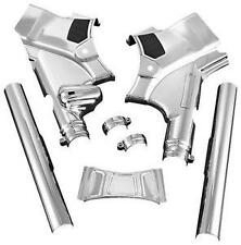 Harley FLTRU Road Glide Ultra 2011-2013Deluxe Neck Covers Chrome by Kuryakyn