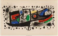 Joan Miró (Spanish, 1893-1983) Star Scene Lithograph in colors 13-1... Lot 62399