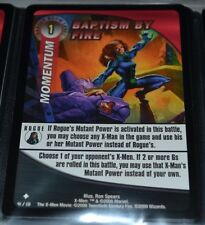 Baptism By Fire 41/131 X-Men Trading Playing Cards Games TCG Xmen Uncommon MINT